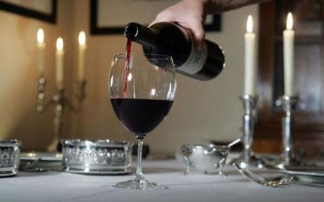 Ian Jones red wine A drop of claret never hurt my little darlings