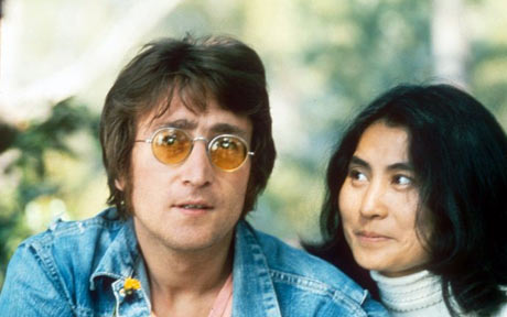 John Lennon and Yoko Ono (Photo: Rex)