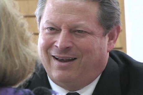 Angry butterball: Al Gore